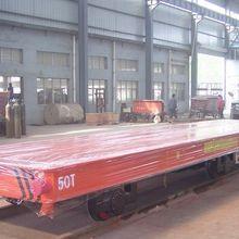 50 т металлургической промышленности с использованием электрического ж/д тележка Батарея Мощность железнодорожный переезд корзину