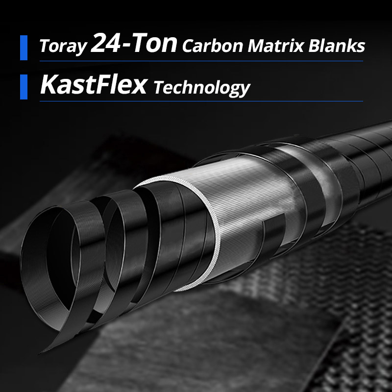 KastKing Cadet Ultralight Carbon Spinning Casting Fishing Rod with 2 Rod Tips 1.98m 2.10m Baitcasting Rod-in Fishing Rods from Sports & Entertainment    2
