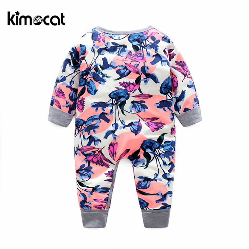 Baby Girl Long Sleeve Jumpsuit Halloween Cats Infant Long Sleeve Romper Jumpsuit