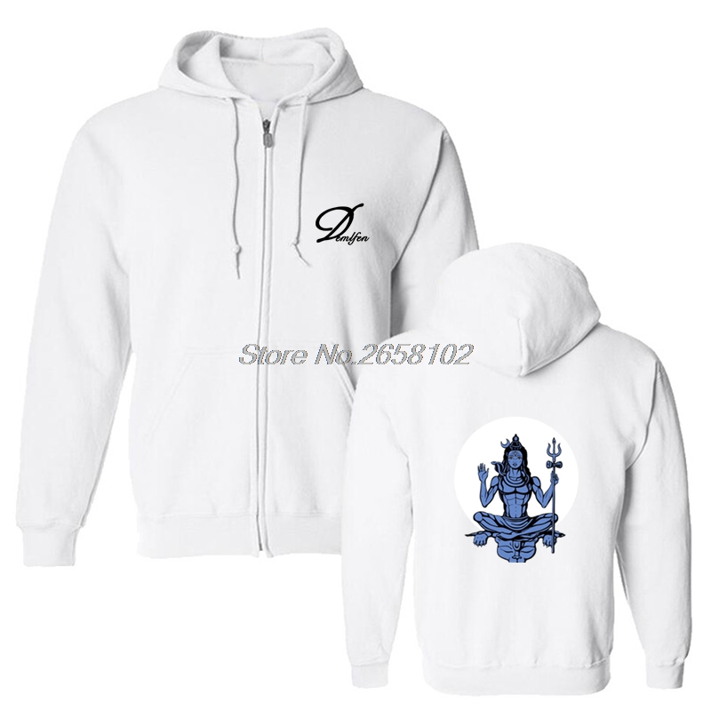 New Lord Shiva Print Hoodies Men Cotton Hoodie Indian Style Coats Tops Hip  Hop Harajuku Streetwear Fitness Sweatshirt-in Hoodies   Sweatshirts from  Men s ... 36b41c89e