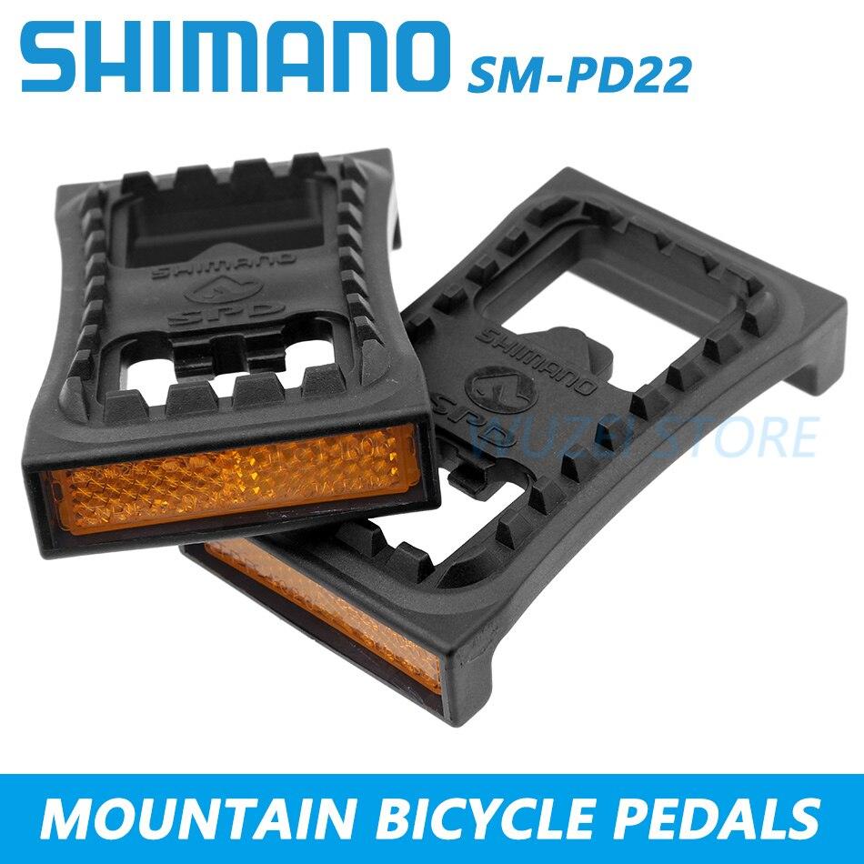 Shimano SM-SH56 SPD vélo de montagne Vélo Bicyclette Multi-Libération Pédale Crampons argent US NEW