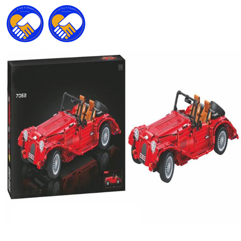 (A Toy A Dream)7062 Technic convertible car building bricks blocks toys for children Boy Game Bela yile 107 2 in 1 3353 3354 technic motorbike motorcycle car building bricks blocks toys for children boy game bela 8051