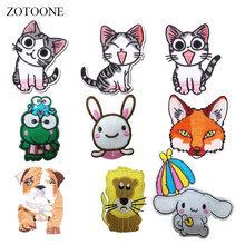 ZOTOONE Sequined Unicorns Patches for Clothing Embroidered Patch Sewing on Clothes Cranes Decorations Iron on Patch Applications