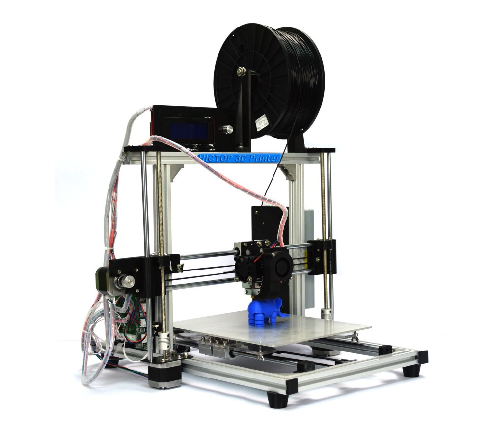 HICTOP Prusa I3 Aluminum frame 3D Desktop Printer DIY prusa High Accuracy Self assembly printing size