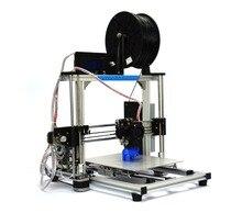 HICTOP Prusa I3 Алюминиевая рама 3D Настольный Принтер DIY prusa Высокая Точность самосборки размер печати 270*210*200 см