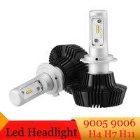 Car LED Headlight Bulbs H7 H4 H11 9005 9006 50W Set 8000LM 6500K Waterproof Auto Driving
