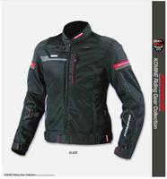 Free Shipping KOMINE JK044 high performance drop resistance clothing racing suits motorcycle jacket green black orange