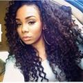 8A Brazilian Deep Wave Virgin Hair 4 Bundles Queen Hair Products Wet and Wavy Human Hair Deep Wave Brazilian Hair Weave Bundles