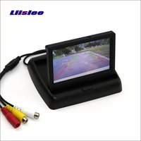Liislee For Renault Scenic 3 III Foldable Car HD TFT LCD Monitor Screen Display / 4.3 inch / NTSC PAL Color TV System