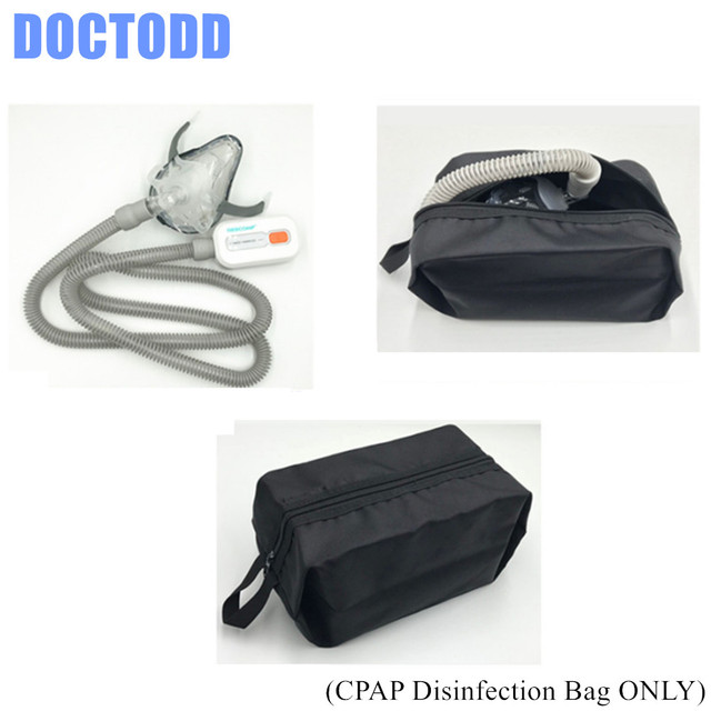CPAP Sterilization Bag Disinfection for Respirator Nasal Full Face Mask Tubing Hose Cleaning Use