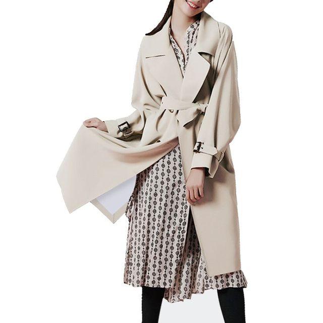 2017 Новая Задняя Вилка Случайный Ремень Свободные Зима 'ы пальто Для Женщин Твердые Двубортный женские Пальто Зимние F685