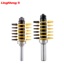 8mm 1/2 Shank Brand new high quality Adjustable Finger Joint Router Bit ndustrial grade Use in router table only