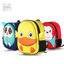 i-baby 3D Animal Design Kids Backpack Waterproof Schools Baby Toddler Kindergarden Lunch Box Carry Bag, Ages 2+, 6 Colors