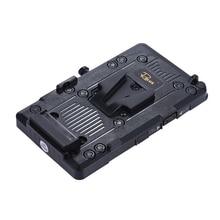 Andoer RL IS2 الخامس جبل الخامس قفل لتقوم بها بنفسك بطارية إمداد الطاقة لوحة لسوني BMCC BMPCC كاميرا الفيديو رصد LED الفيديو الضوئي