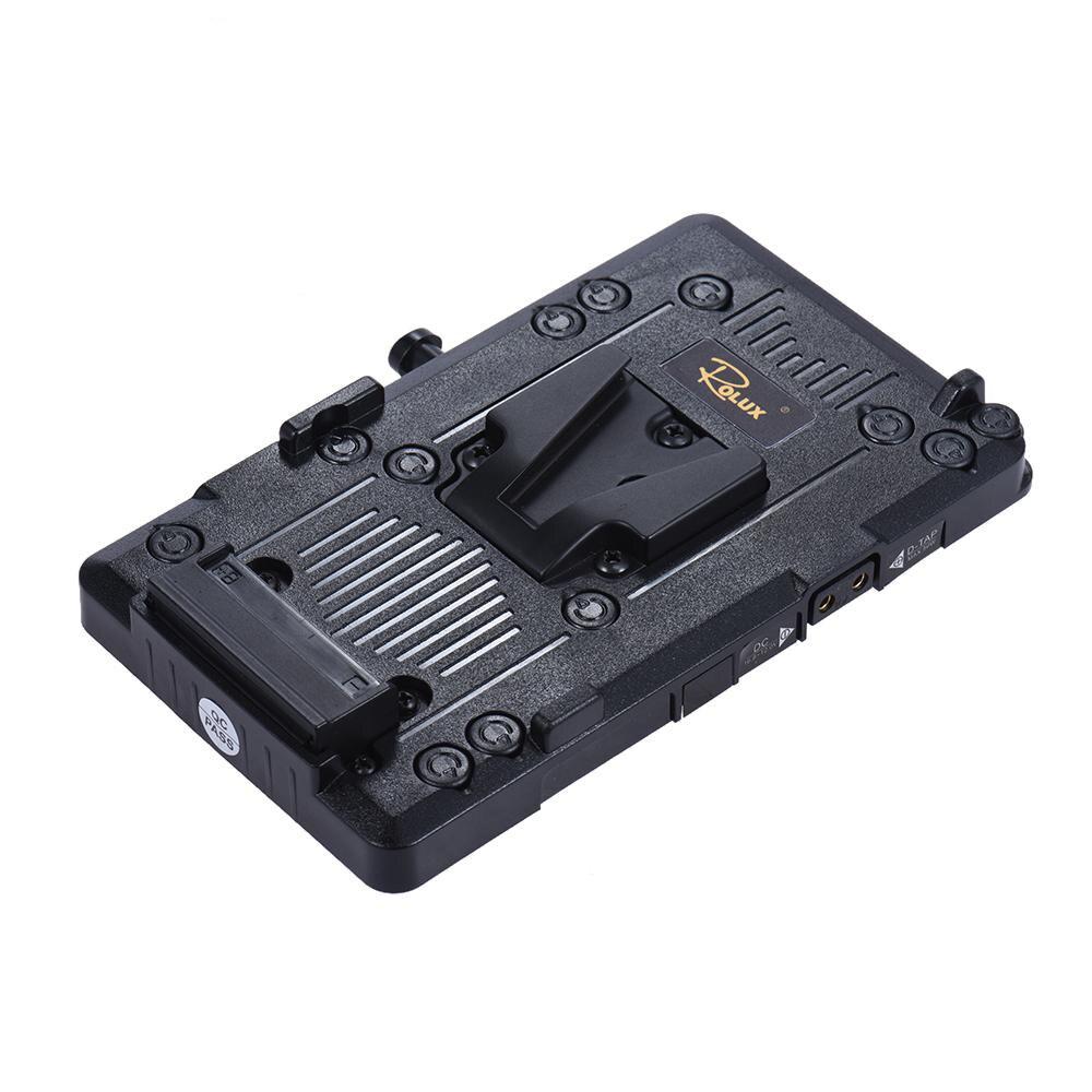 bilder für Andoer rl-is2 v-mount v-lock diy stromversorgung batterie platte für sony bmcc bmpcc camcorder monitor led video licht