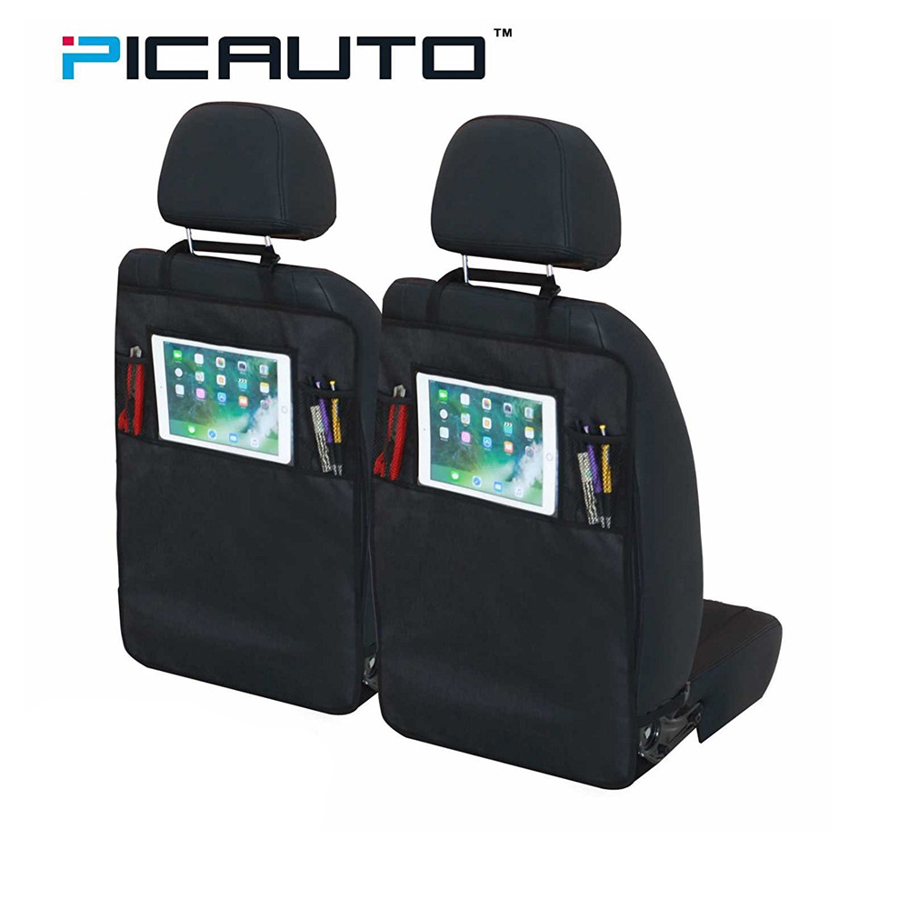 Auto Organizer Tablet Us 24 99 Pic Auto Car Seat Back Storage Organizer Mini Pocket With Tablet Holder For Ipad Storage Bag Car Styling Oxford Waterproof Black In