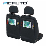 PIC AUTO Car Seat Back Storage Organizer Mini Pocket With Tablet Holder For Ipad Storage Bag