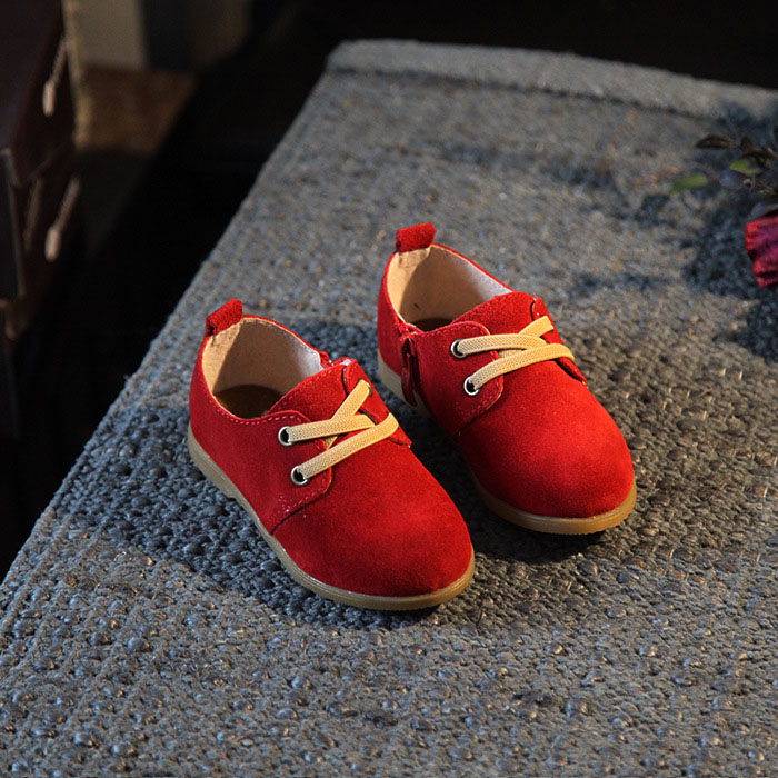 2016 fall new children's shoes girls and boys casual shoes kids flat single shoes student shoes