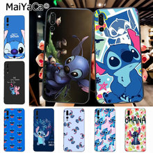 Maiyaca cartoon lilo stich ohana Newest Fashion Luxury phone case for Huawei Honor 9 Honor 10 P20 case Coque(China)