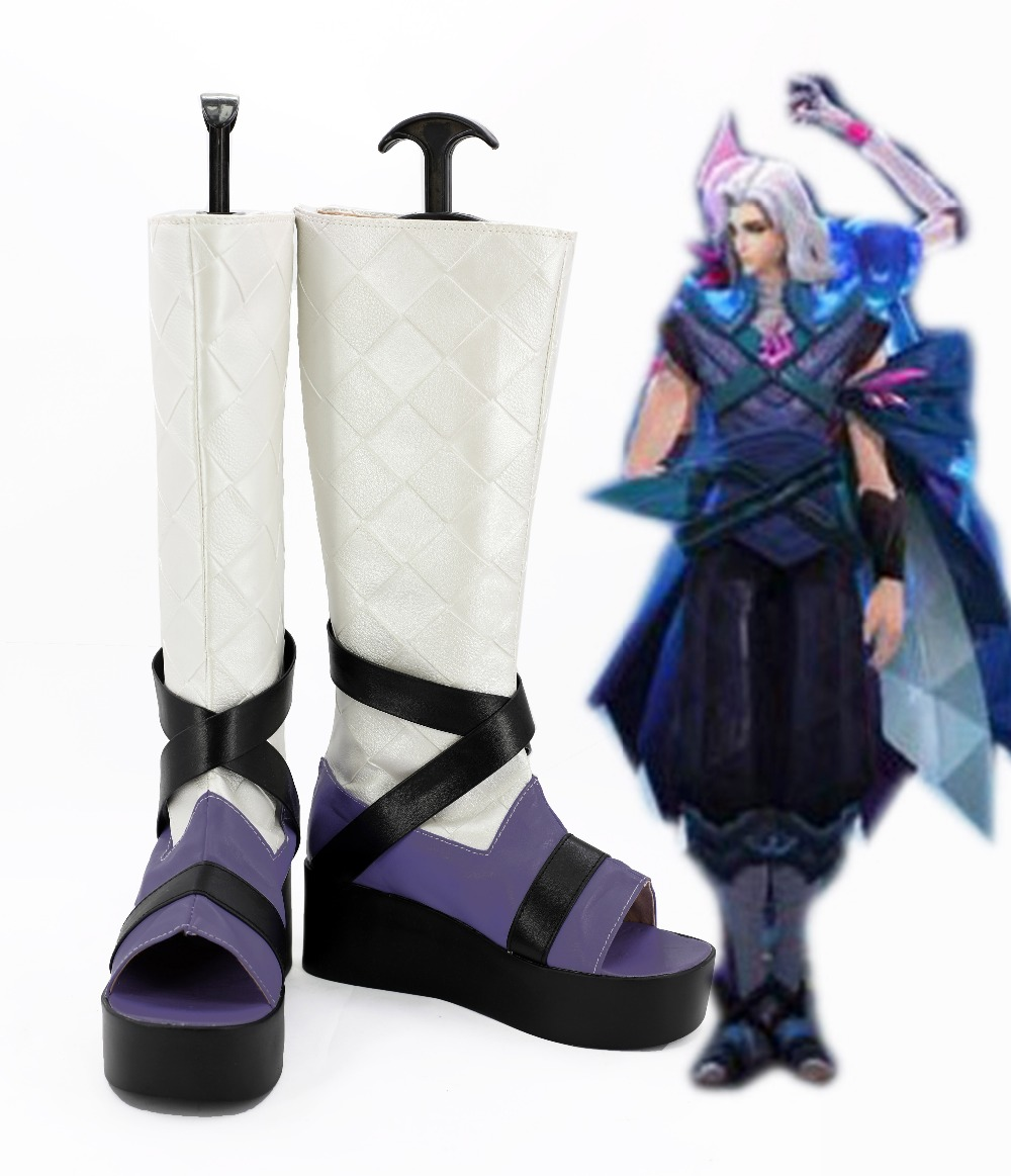 Arena of Valor pang tong cosplay shoes boots