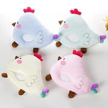 The Newborn Baby Baby Pillow Children Cartoon Plastic Chicken Shaped Pillow Pillow Cotton Anti Migraine Children's Memory