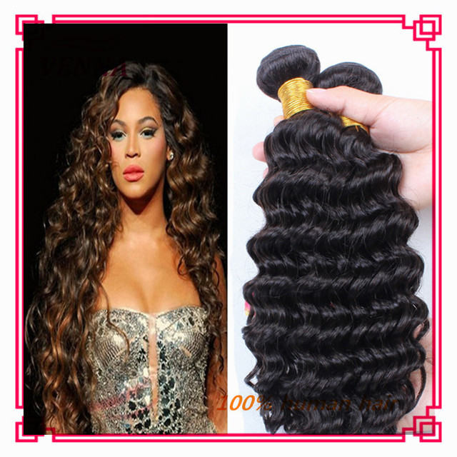 Cheap Hair Extensions Aliexpress Brazilian Hair Deep Wave Sew In