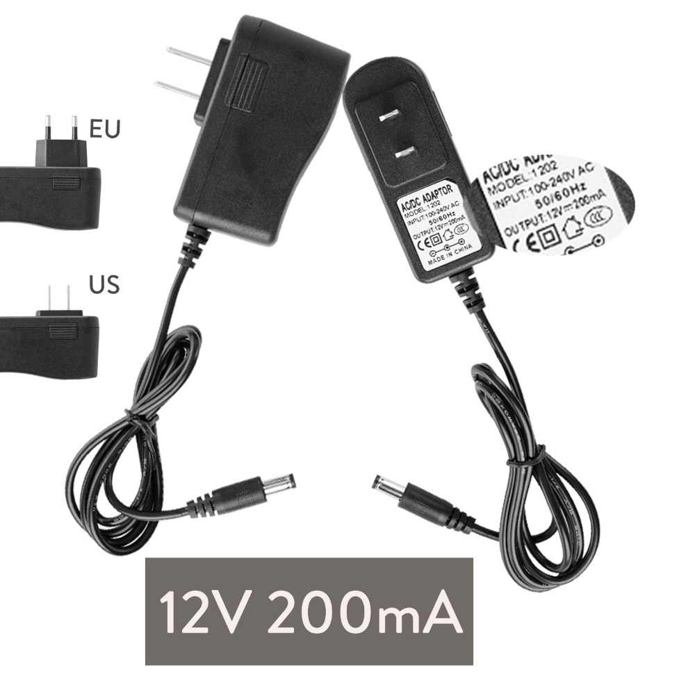 DC 12 v 3 v 6 v 19 v 20 v 1A 200mA 300mA 500mA 600mA UNS EU Plug Power versorgung Adapter Transformator Für LED Streifen licht Eingang 100-240 v
