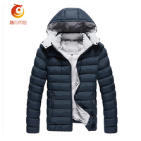 2017 Men Winter Coat Thick Long Down Parka Clothing With Hooded Men S Warm Fur Collar
