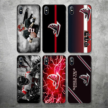 Yinuoda Atlanta Falcons Phone Case NFL Matt Ryan For iPhone Shell DIY Picture Soft TPU Cover X XR XS MAX 7 8 7plus 6 6S 5S SE 5
