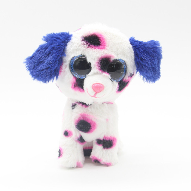 a62d4810ef5 15cm Ty Beanie Boos Big Eyes Tiger Tracey Brutus -Boxer dog Plush Toy Doll  Baby Kids Gift