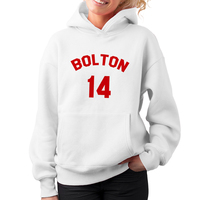 New Arrivals Streetwear Womens Hoodies High School Musical Bolton Jersey Red Pullover Citi Trends Female Sweatshirt