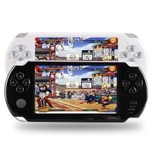 S9000A Portátil 5.0 polegada HD Jogador Handheld Do Jogo MP5 MP4 Multimídia Consola de jogos de 5 Polegada Para A PSP 8G Brinquedo Consolas de Jogos de Vídeo