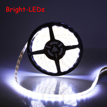 5M 3528 SMD LED Strip light DC 12V 60LEDs/M indoor and outdoor waterproof Decorative Tape RGB White Blue Red Green Yellow