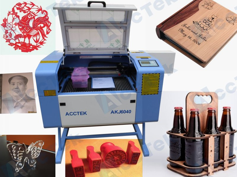 50w co2 laser engraving and cutting machine / portable engraving machine for sale name plate jewelry engraving and cutting machine laser machine cutting