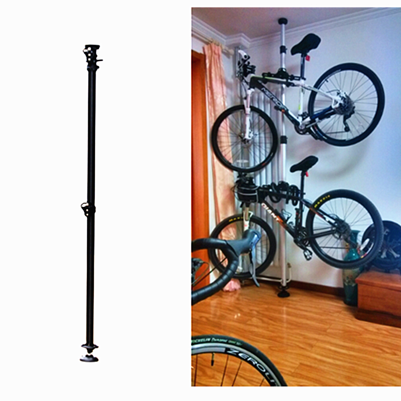 Prix de gros vélo vélo vélo montrant Stand crochets muraux cintre mural Rack vélo tenture murale en acier fort