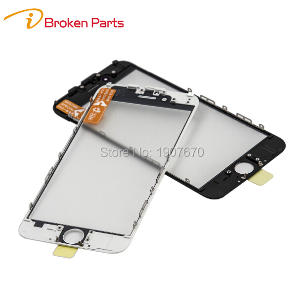 Original NEW Cold Press Replacement LCD Front Touch Screen Glass Outer Lens With Frame OCA Film
