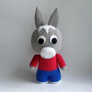 crochet toys  amigurumi  rattles  doll dragon   model  number  SBY0049