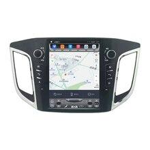 """10.4 """"tesla estilo vertical da tela android 6.0 Quad core GPS de Navegação de rádio Do Carro para Hyundai ix25 Creta Cantus 2014-2017"""