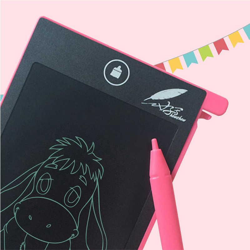 4.4インチポケットペーパーレス液晶書き込みボード子供教育絵画メモ帳数学のおもちゃギフトワンキー消去