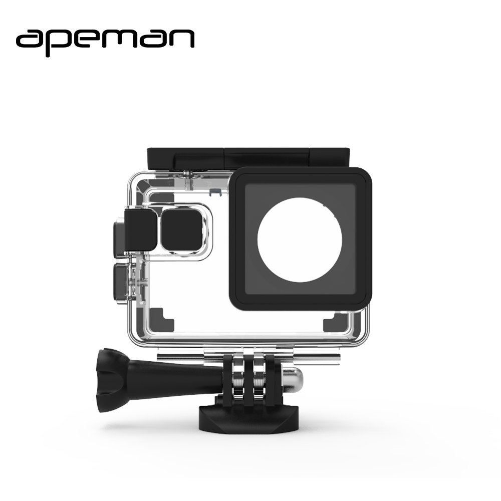 Apeman Action Cam Waterproof Case Sport Camera Box For A66 A70 A80 Sjcam SJ4000 SJ7000 EKEN