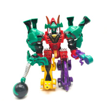 Transformation Dinosaur Robot Action Figures 5 in 1 Assemble Dinozords Ranger Megazord Children Toys Gifts цены