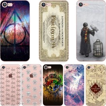 Harry Potter Soft Silicone Case for iphone back cover