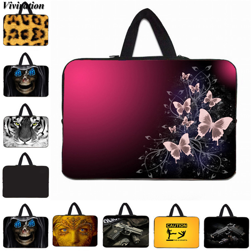 Viviration Sleeve Laptop 17.3 Inch Bag Fashion Print Women Portable Notebook Case 10 12 13 15 14 13.3 7 17 Inch Carry Cover Case