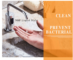 Induction soap Machine Soap Liquid Fully automatic induction faucet type Foam SOAP Liquid Device Desktop Hotel Cleaning Products
