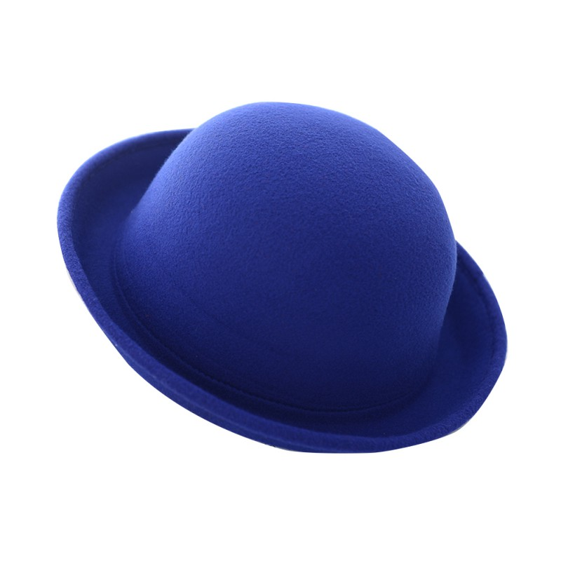 6a06ee5eabf Dropwow Women Fashion Vintage Bowler Top Hats Nice Roll Brim Derby ...