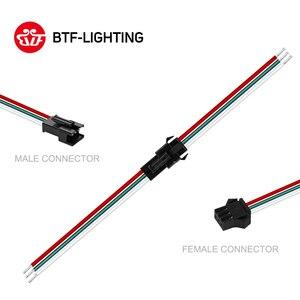 10-50 pairs 2pin 3pin 4pin 5pin SM JST stecker männlich und weiblich für 5050/3528 WS2812B WS2811 WS2813 WS2815 LED Streifen