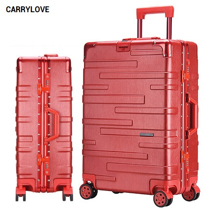 CARRYLOVE fashion luggage 20/24/26/29 size perfect High-quality PC Rolling Luggage Spinner brand Travel SuitcaseCARRYLOVE fashion luggage 20/24/26/29 size perfect High-quality PC Rolling Luggage Spinner brand Travel Suitcase