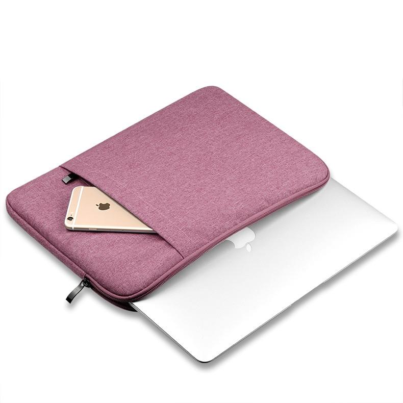 For Apple Macbook Air Pro Retina 11 12 13 15 Laptop Sleeve Case Soft Nylon Sleeve Bag Case For Macbook Air 13 Sleeve Bag Case