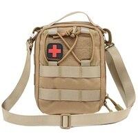 تكتيكية قتالية هجومية حقيبة الإسعافات الأولية حقيبة الطوارئ الطبية حقيبة في أكياس الصيد