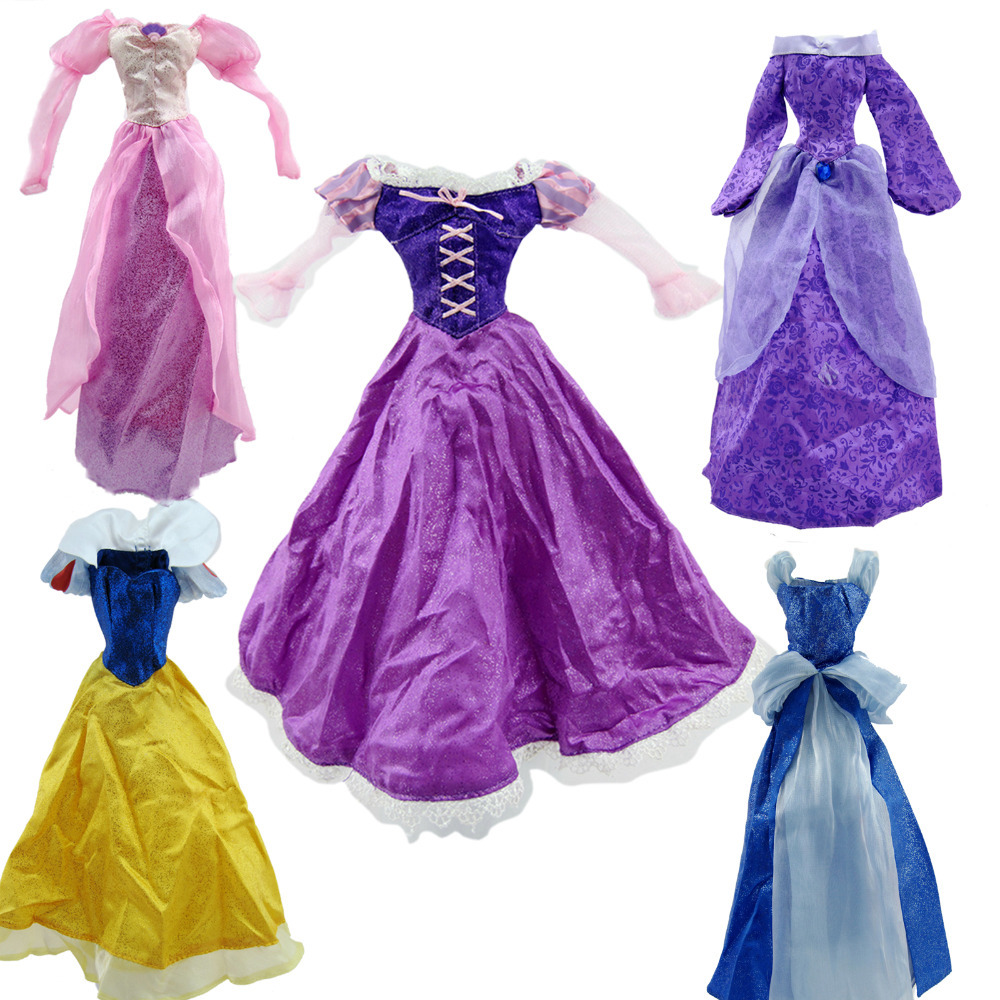 One Pcs 17 Doll Clothes Fairy Tale Princess Dress Handmade Outfit  For 17 1/4 Doll Girl Gift Hot Sell Baby Toy светильники trousselier абажур princess fairy 34х22 см